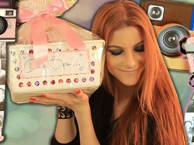 DIY :: Câmera Retrô de Papel (Fácil) e KIT personalizado- 2 idéias de Presentes SUPER Especiais ♥ ♥