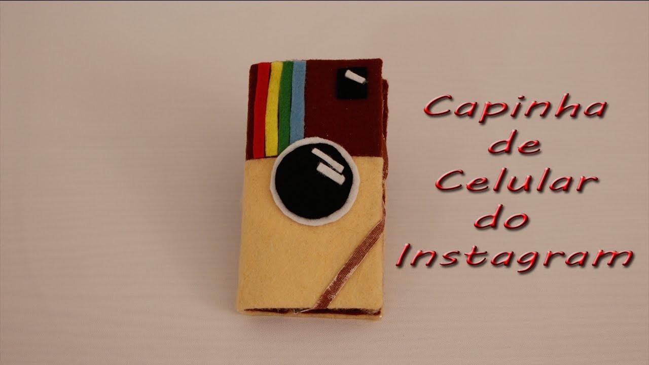 DIY - Capinha de celular de caixa de leite do Instagram - muito fácil