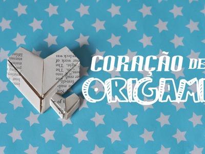 DIY - Coração de origami