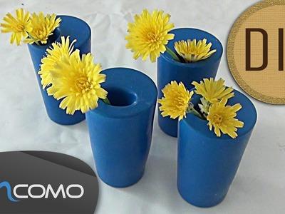 DIY - Vaso feito com bexigas