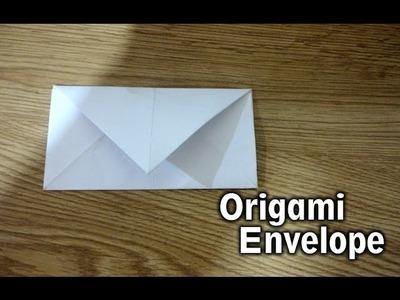 Envelope Origami - aprenda fazendo