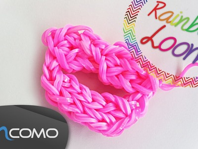 Lábios - Rainbow Loom