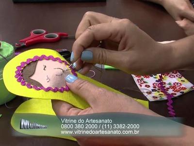 Mulher.com 14.10.2014 - Boneca Matrioska por Vanessa Iaquinto - Parte 1