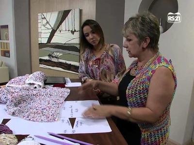 Mulher.com 25.03.13 Vitoria Quintal - Colete  parte 1