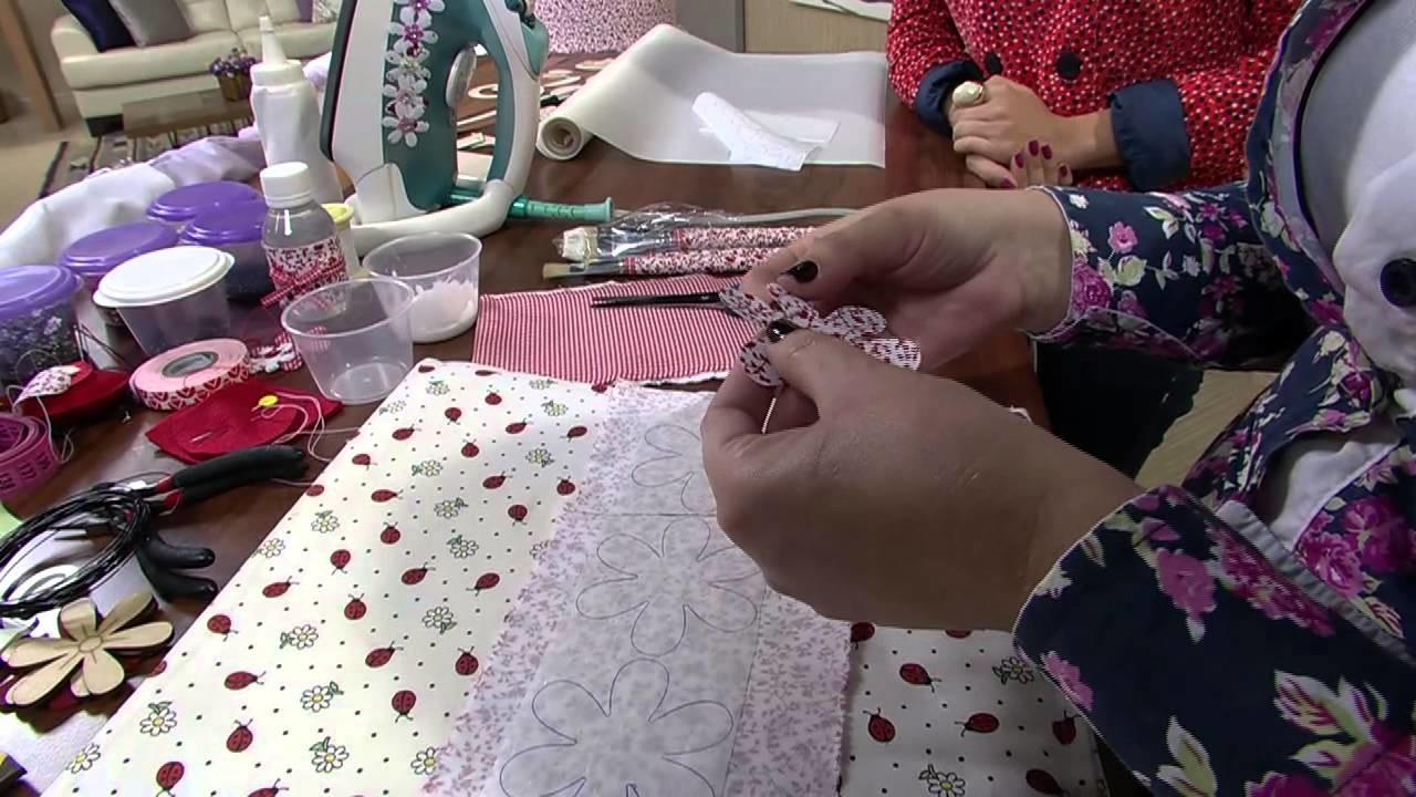 Mulher.com 26.06.2013 Patricia Galhardo - Árvore provencal decorativa Parte 1.2