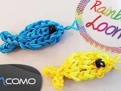 Rainbow Loom - Peixe ( Com Dois Garfos )