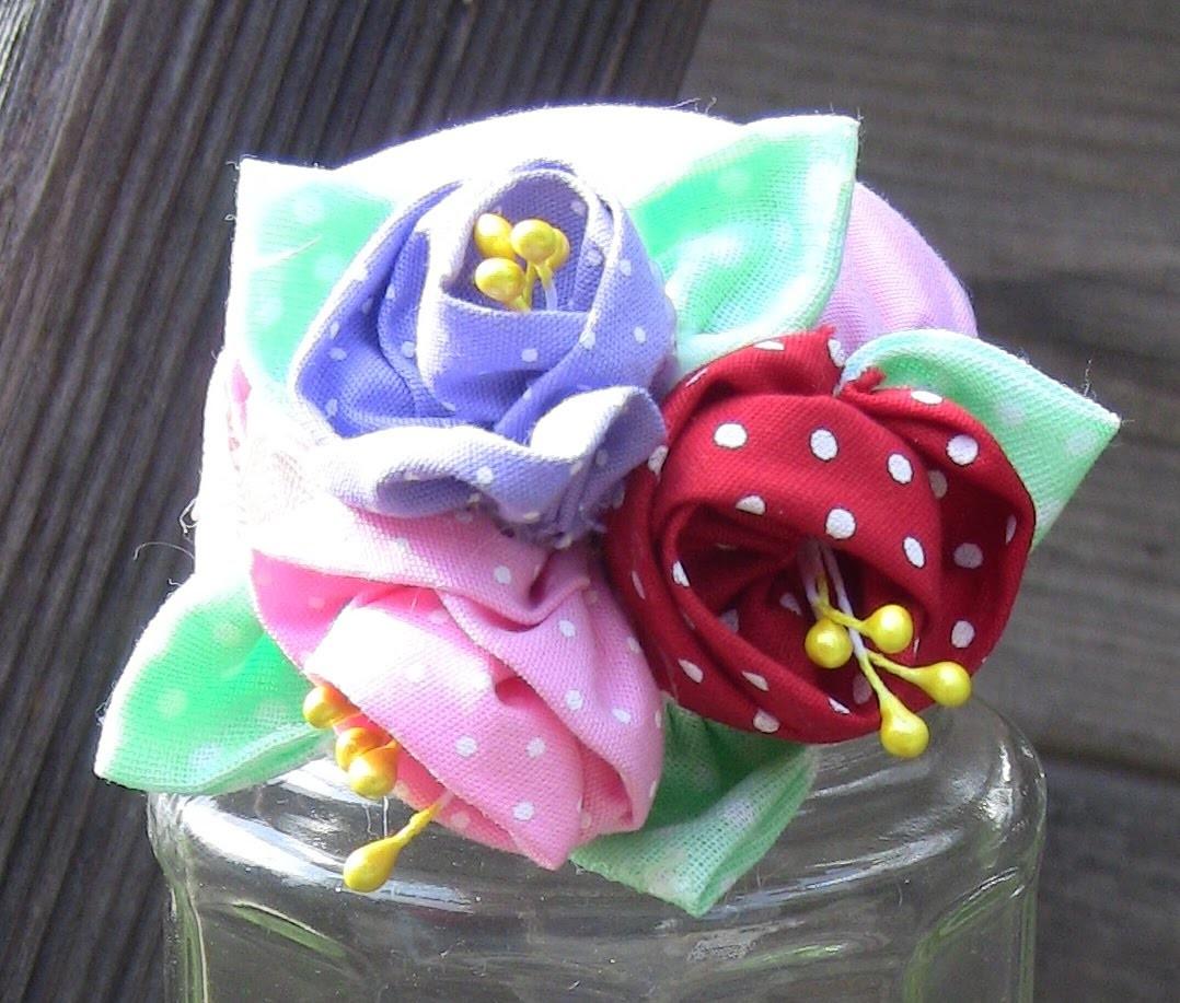 Reciclage Ofineteiro  com vidro e rFlores de  tecido - Passo a Passo