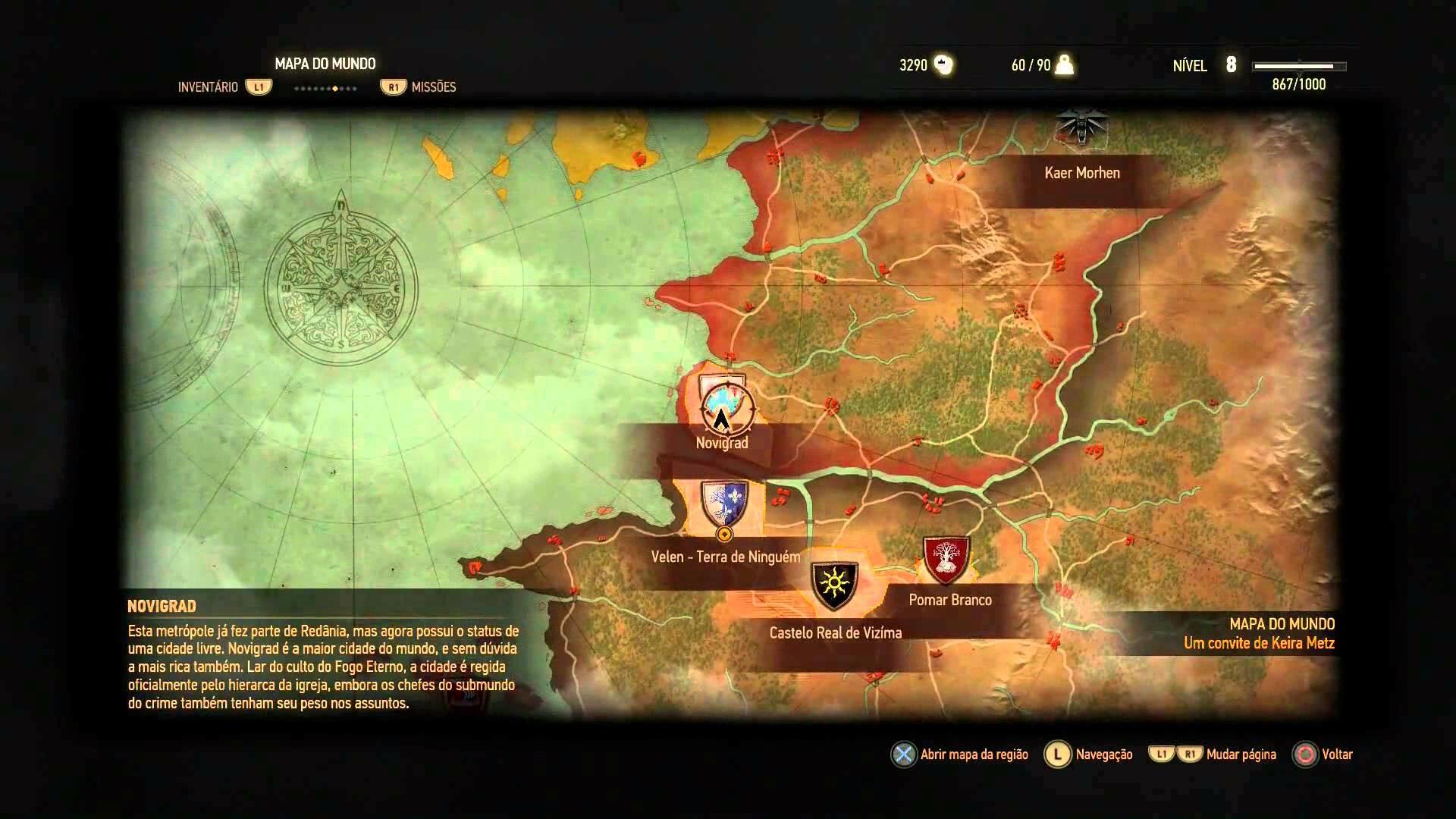 The Witcher 3 - Dicas para o início do jogo (alquimia, craft, gwent, pontos de habilidade)