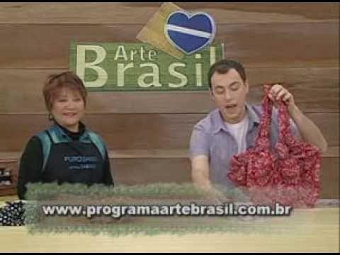 ARTE BRASIL -- LETÍCIA YABÍKU -- BOLSA COM FUROSHIKI (03.01.2011 - Parte 2 de 2)