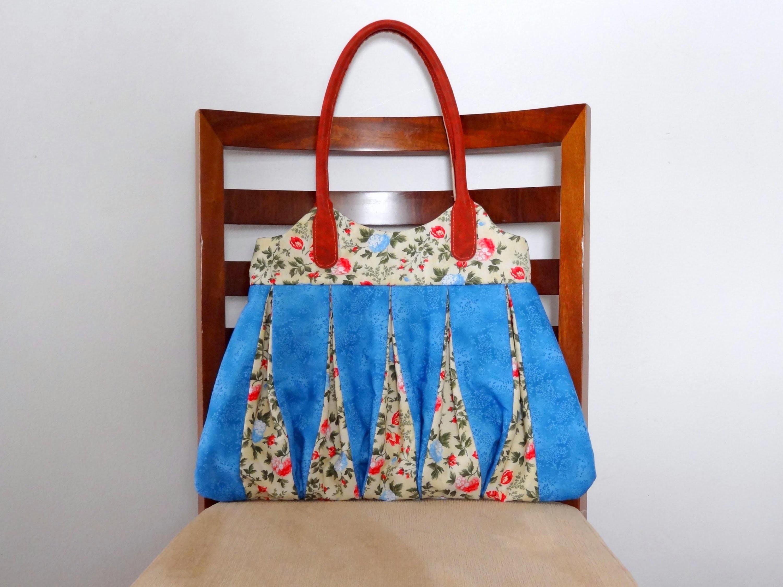 Bolsa em patchwork Amy - Maria Adna Ateliê - Cursos e aulas de bolsas em tecidos e patchwork