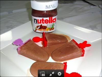 Brincando de Ana Maria: Picolé de Nutella