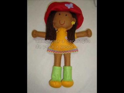 Como fazer uma boneca- Aula 1