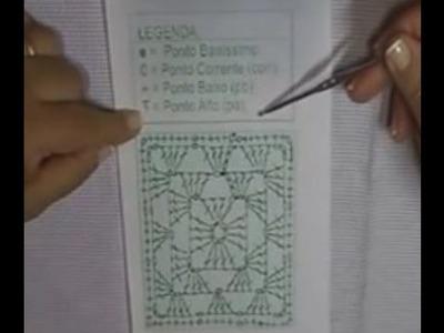 CROCHÊ 8 - Como ler gráficos de crochê (INICIANTES)