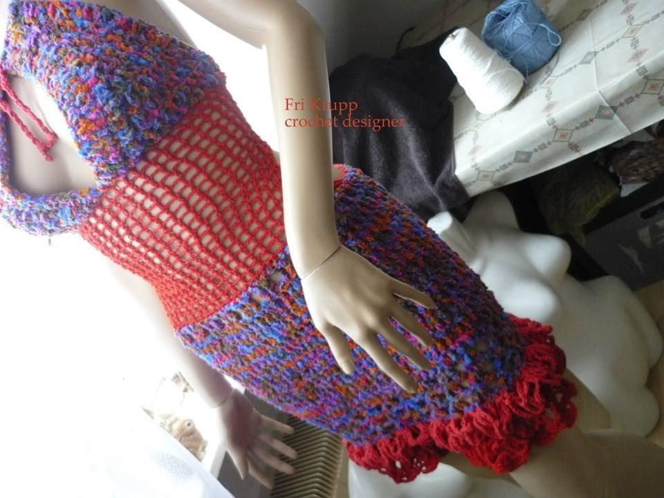 """Crochet Dress Third Person , Häkelkleid, Vestido de croche """"Terceira Pessoa"""" skirt, Rock, Mode"""