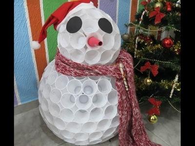 Decoração de Natal - Boneco de Neve
