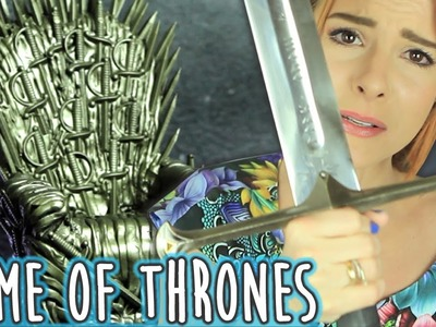DIY :: Trono de Ferro - ♥Game Of Thrones♥ Iron Throne