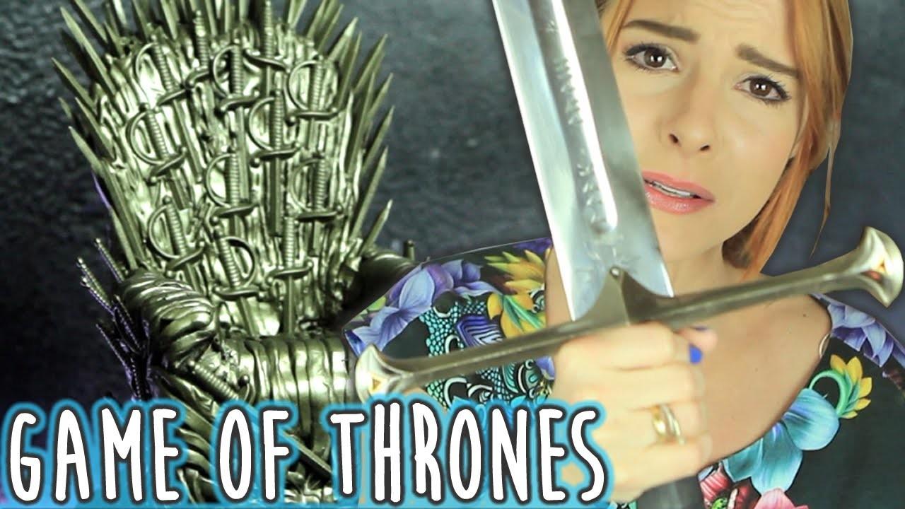 DIY :: Trono de Ferro - ♥Game Of Thrones♥ Iron Throne