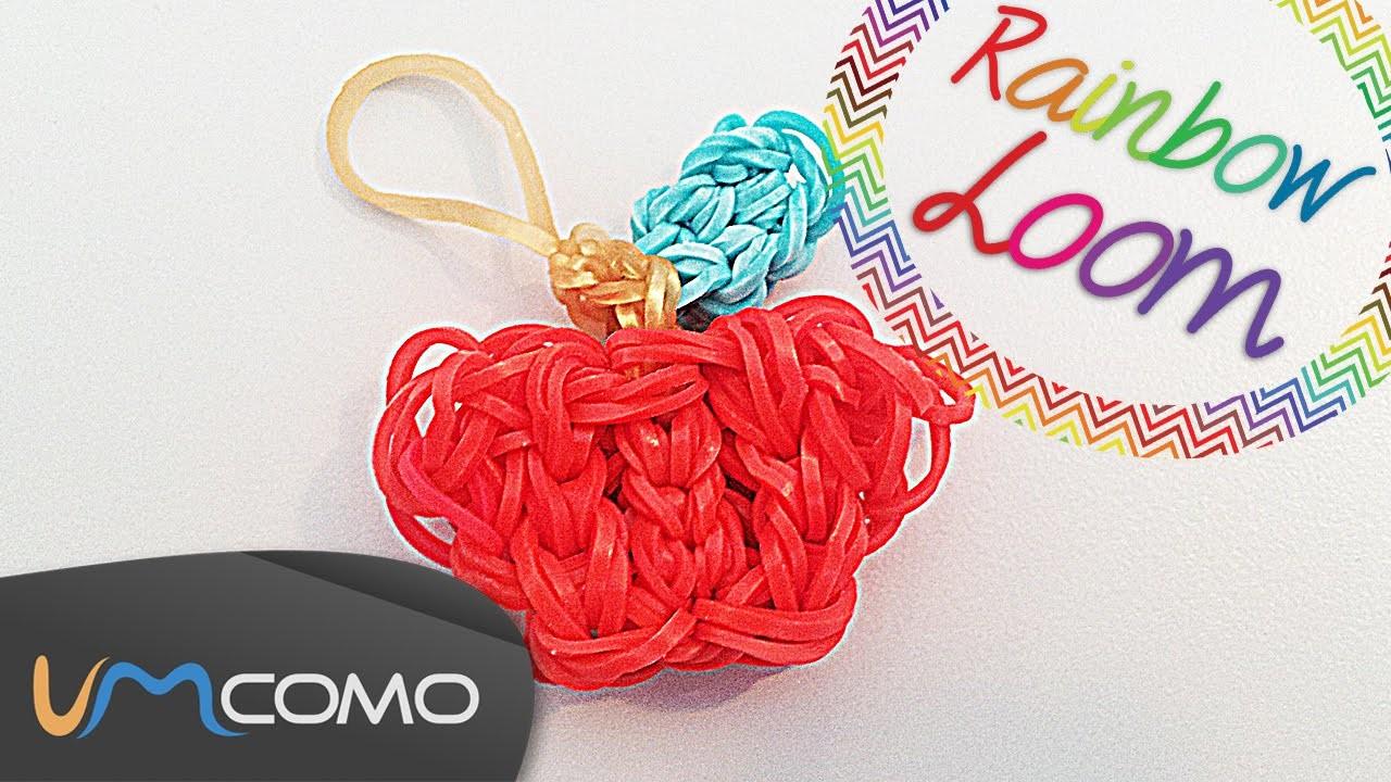 Maçã - Rainbow Loom