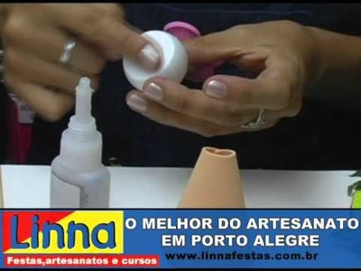 PASSO A PASSO - JOANINHA EM E.V.A COM A ARTESÃ KRIKA