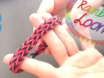 Rainbow Loom - Pulseira Double Fishtail ( Com Quatro Lápis )