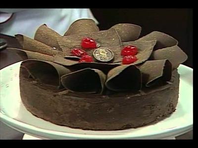 Tudo de Bom - Receita torta trufada de chocolate 22.06.2011