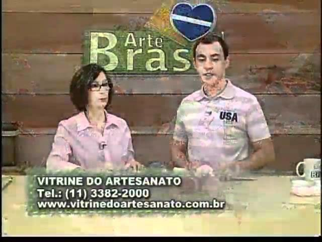 ARTE BRASIL - CLAUDIA MARIA - SAPATINHO DE BEBÊ EM TRICÔ (31.10.2011)