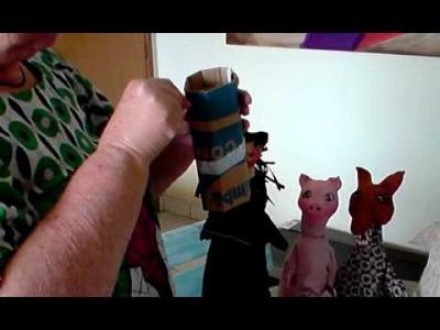 Artesanato em Papel Mache (Handcrafts) - Bonecos 1ª Parte
