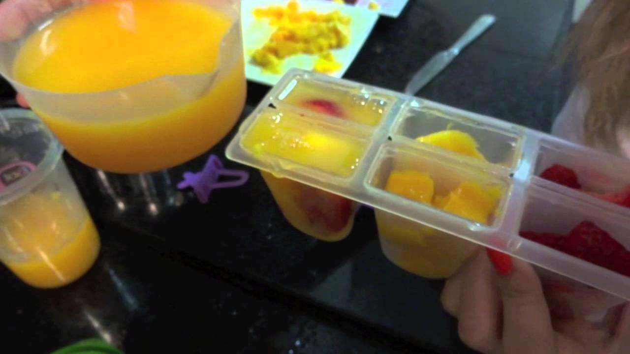 Brincando de Ana Maria: Picolé de Frutas