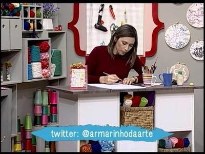Caderno de receitas de scrapbook - Dia das Mães - (parte 1)