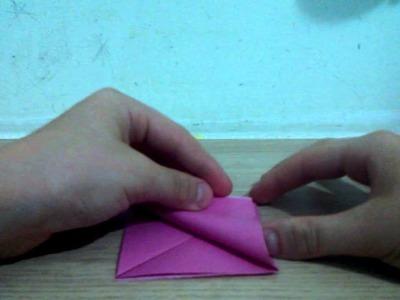 Como fazer um coração de origami