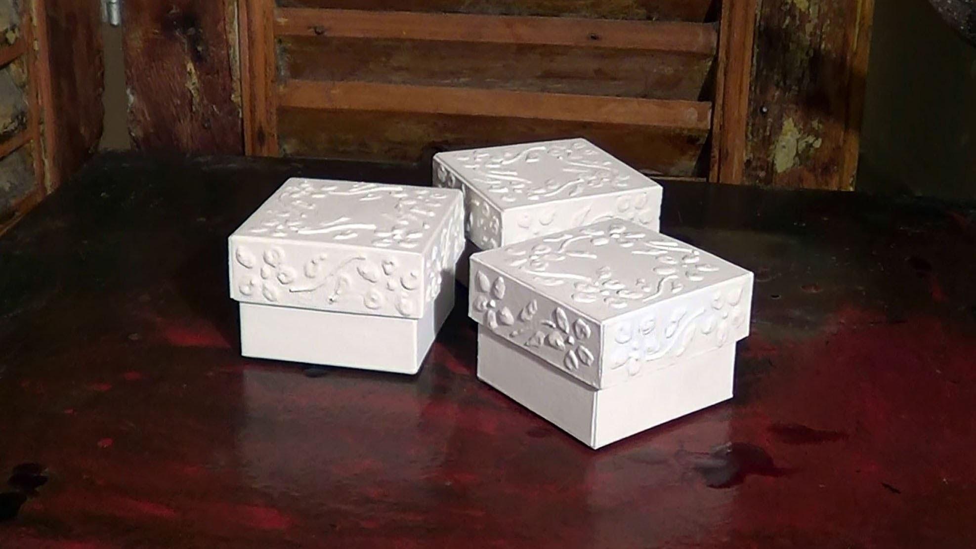 DIY - Caixa de lembranças - Remembrance box - Cajitas de recuerdo