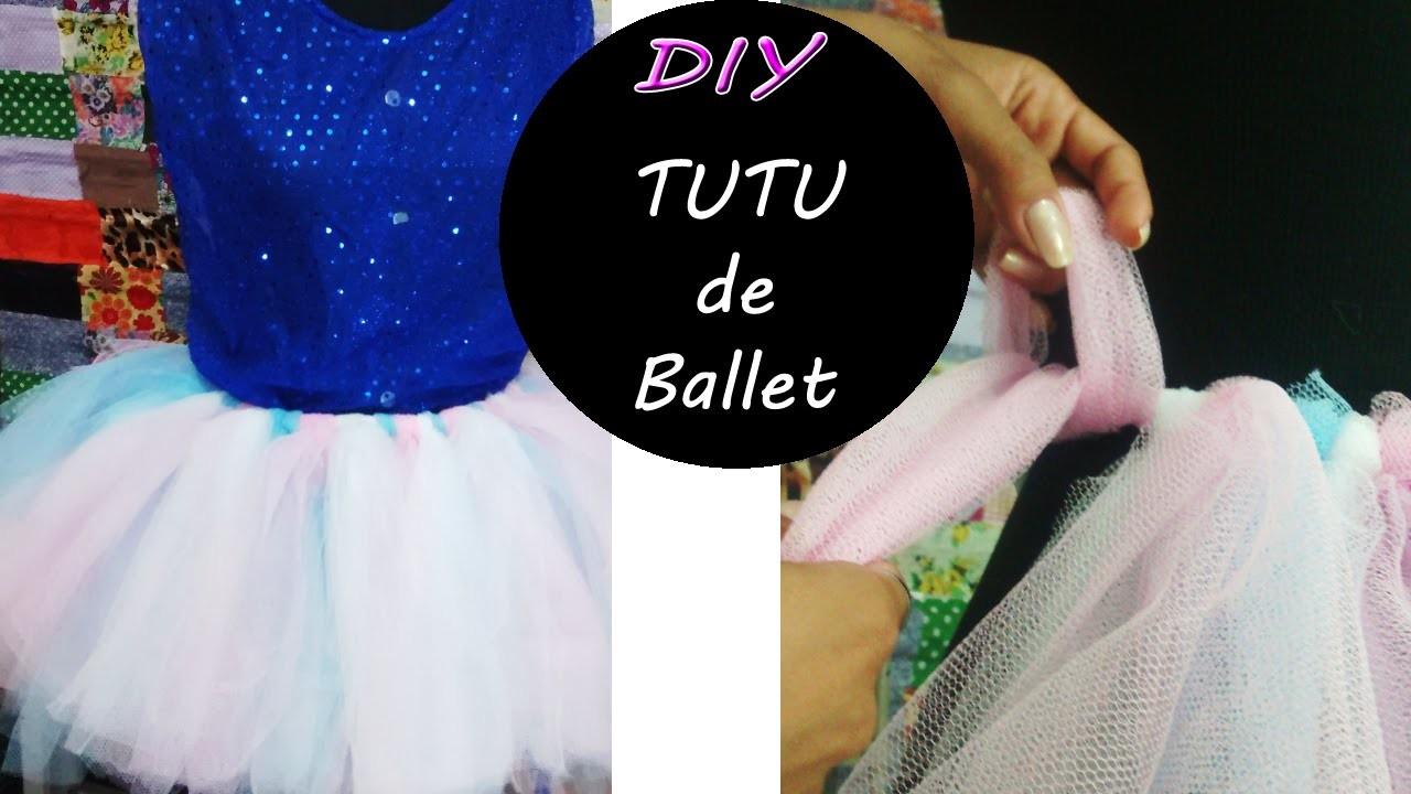 DIY - Tutu de Ballet. Tutorial