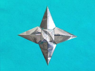 Estrela de Origami Como Fazer