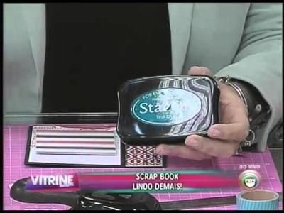 Faça cartão de scrapbook para presentear no Dia dos Namorados (09.06)
