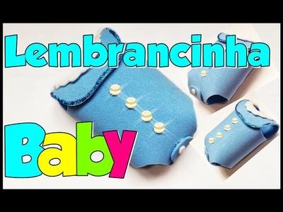 Lembrancinha de chá de bebê passo a passo