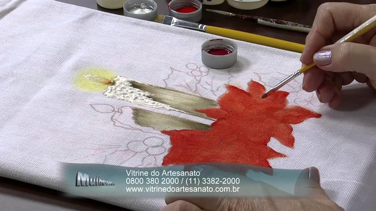 Mulher.com 03.12.2013 - Pintura em tecido tema Frutas e Flores - Beth Mattelli (Bloco 1.2)