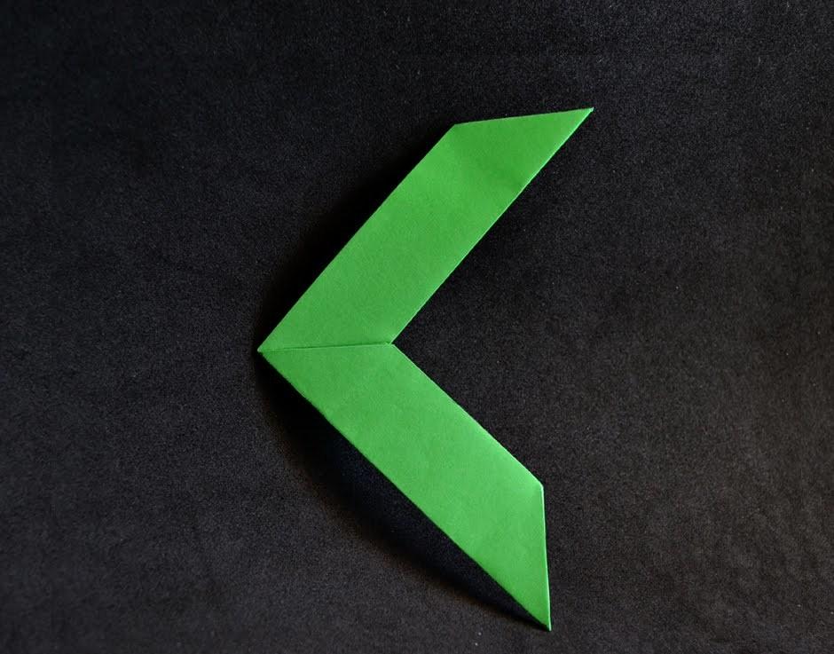 Origami: Bumerangue