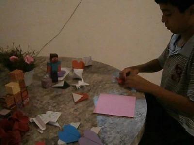 Origami Dia das Mães
