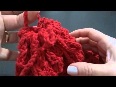 Puxa saco de Crochê com Garrafa Pet