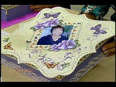 Scrapdecor com Mamiko - Vitrine do Artesanato na TV
