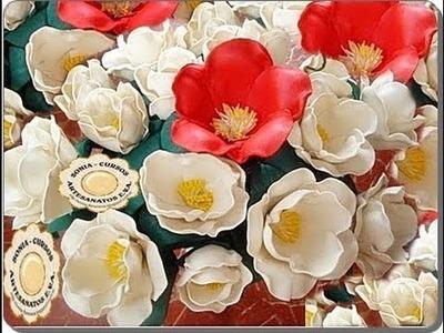 Tecnica Flores em E.V.A