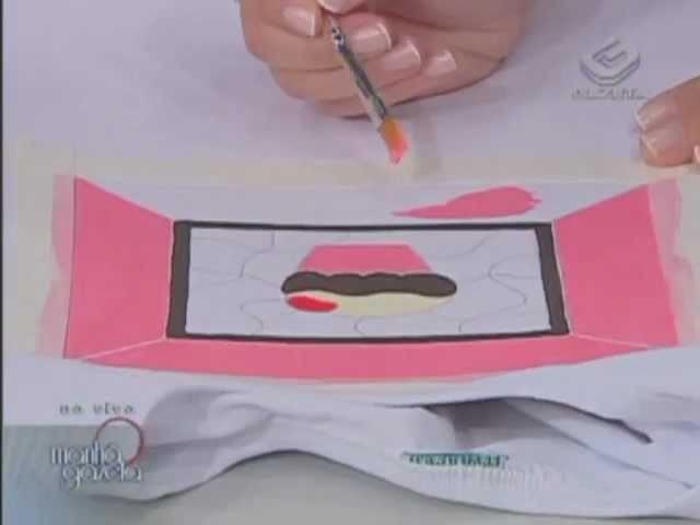 Técnica Puff em camiseta - Artesanato - Acrilex