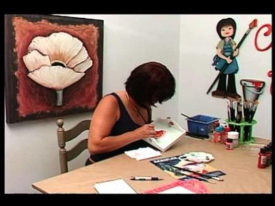 Tv Transamérica - Técnica: Pintura em Madeira Country com Vidrificação