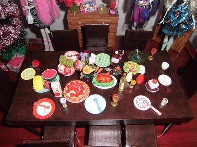 [veja a nova versão] Como fazer uma mesa para boneca