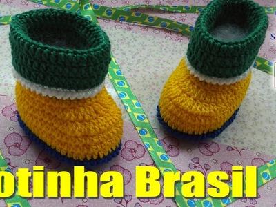 Botinha Brasil Menino - Professora Simone