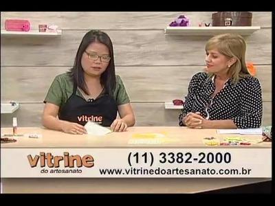 Carteira Feminina feita com Origami em Tecido com Thais Kato - Vitrine do Artesanato na TV