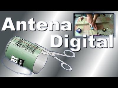Como fazer uma antena digital interna para TV