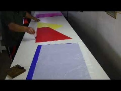Como hacer globo aerostático sem cortar o papel