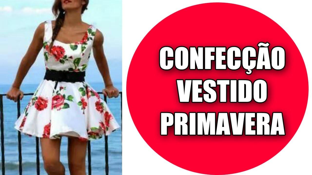 Confecção Do Vestido Inspiração Primavera - Tutorial
