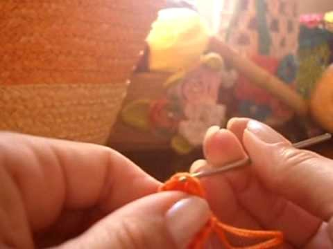 Crochê: Bolsa em Ponto Escama com Picô - 01.05